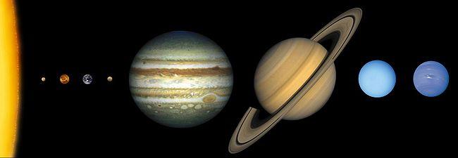 太陽系イラスト
