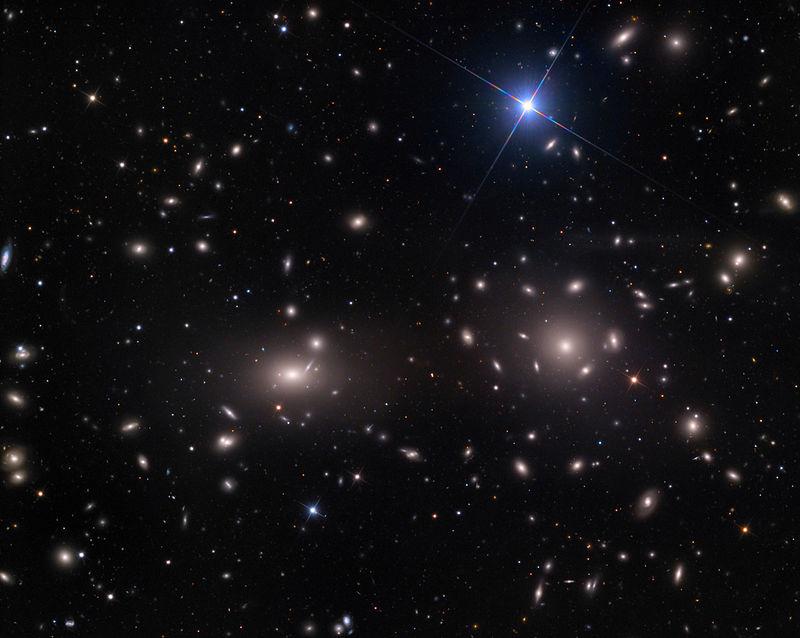 かみのけ座銀河団